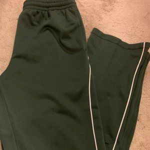 Pants - Forever 21 Green Trackpants